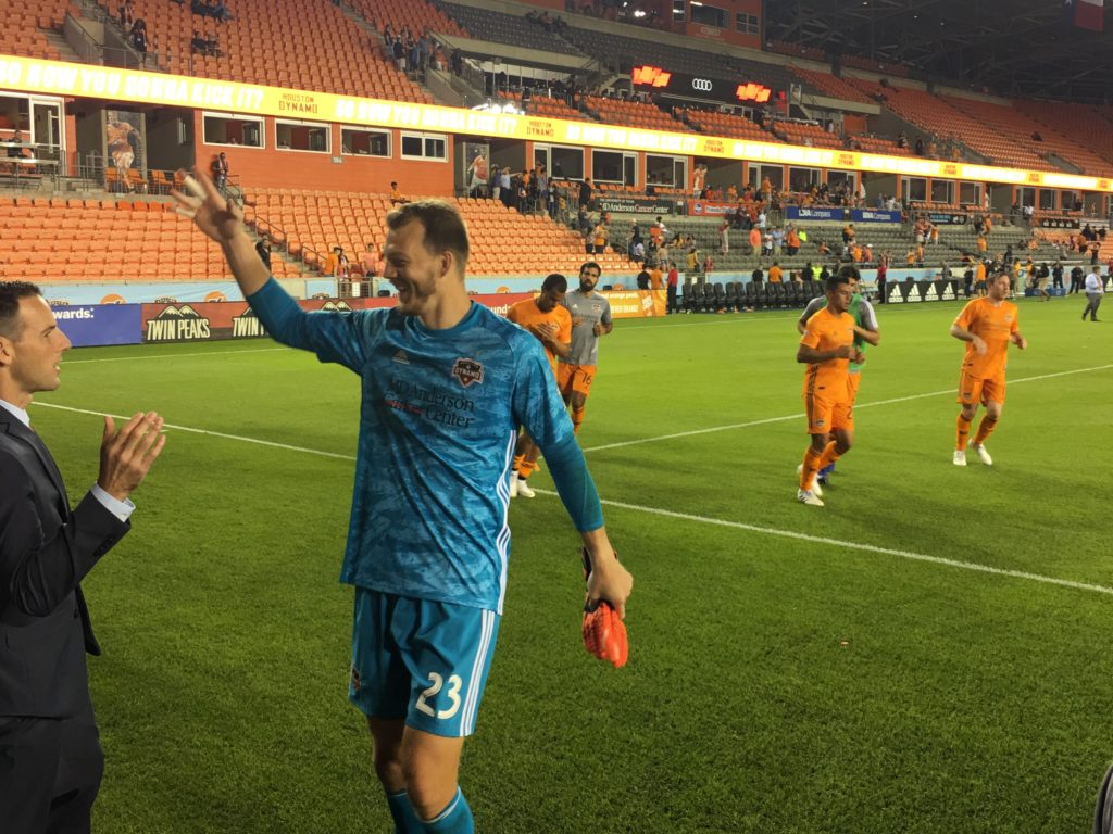Three points, clean sheet, and more from Houston's 2-0 home